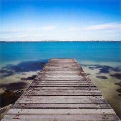 I think I am in for a swim today! (karindebruin) Tags: colors grevelingen grevelingenmeer nederland thenetherlands kleuren sun zon jetty steiger zeeland