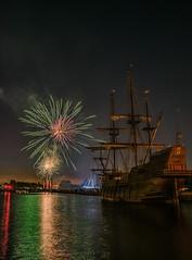 Honfleur 14 Juillet 2018 (o.penet) Tags: boats nights long exposure fireworks galion sundown penet nikon d750 normandie