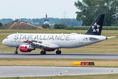 A320_LH2328 (MUC-VIE)_OE-LBZ (StarAlliance Livery)_3 (VIE-Spotter) Tags: vienna vie airport airplane flugzeug flughafen planespotting wien