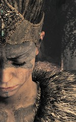 """Loss"" (L1netty) Tags: hellbladesenuassacrifice hellblade ninjatheory pc game games gaming pcgaming videogame videogames reshade screenshot 4k character senua woman female people closeup face color fantasy outdoor"