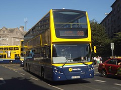 Phibsborough's VT57 operating a very rare allocation on route 66B. (Public Transport Photos) Tags: enviro500 volvo doubledeckerbus threeaxlebus vt dublinbus