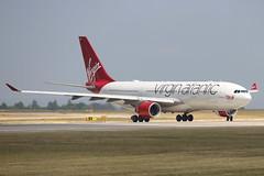 G-VLNM VIRGIN ATLANTIC AIRWAYS AIRBUS A330-223 (Roger Lockwood) Tags: gvlnm virginatlanticairways airbusa330 manchesterairport man egcc