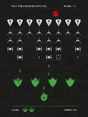 Space War (Calaveras y Gatitos) Tags: space war galaxy laser hawk death star classic arcade games geeks invaders universe force jedi revelion empire