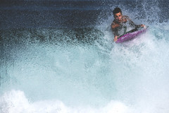 On the top of the wave (puig patrice) Tags: ocean bodysurf wave action sport fuji rouleaux