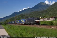RTC E189.909 (Marco Stellini) Tags: rail traction company rtc 189 br189 siemens es64f4 eurosprinter brenner lokomotion mattarello