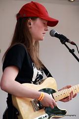 IMG_4513 (marinbiker 1961) Tags: female musician guitar guitarist keyboards red music