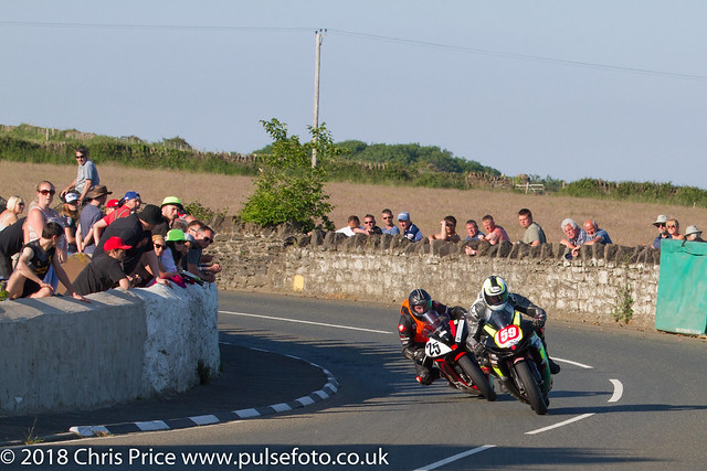 post TT Races 2018; Manx Independent Carriers 1100cc Race