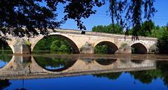 Puentedura, Burgos, España. (Caty V. mazarias antoranz) Tags: puentedura arlanza burgos lademanda ríosdeespaña castillayleón puentes agua riberas cauces spain españa riberasdelarlanza