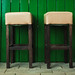 Empty Bar Chairs