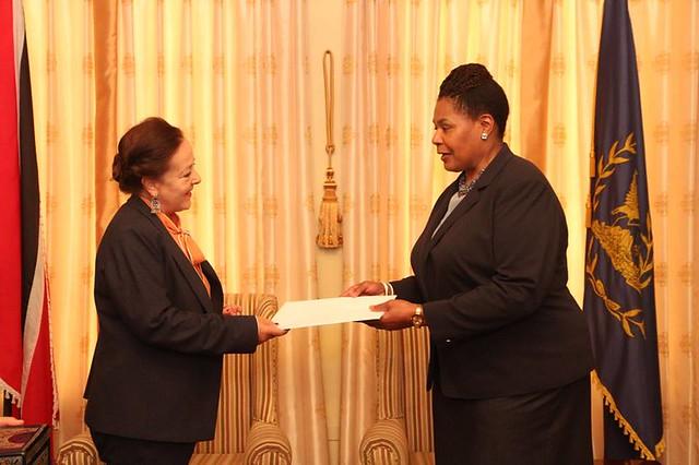 Presentation of Credentials – Her Excellency Rosario Asela Molinero Molinero