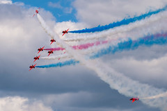 Red Arrows Tornado (Lee532) Tags: redarrows reds raf royalairforce tornado display team hawk aerobatics rafat military aviation plane aeroplane aircraft jet fast nikon d610 tamron150600mm