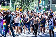 San Francisco Pride Parade 2018 #28 (satoshikom) Tags: canoneos6dmarkii canonef70200mmf4lisusm sanfranciscoprideparade2018 marketstreet southofmarket lgbt street parade weekend pride sanfrancisco downtown