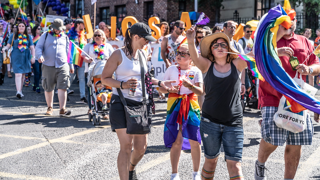 ABOUT SIXTY THOUSAND TOOK PART IN THE DUBLIN LGBTI+ PARADE TODAY[ SATURDAY 30 JUNE 2018] X-100271