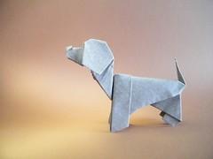 Pluto - Vicente Palacios (Rui.Roda) Tags: origami papiroflexia papierfalten chien perro cão cachorro dog pluto vicente palacios