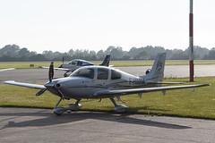 F-HIMM Cirrus SR.22 GTS G3 @ Groningen - Eelde 27-Jun-2018 by Johan Hetebrij (Balloony Dutchman) Tags: cirrus groningen eelde airport aircraft ehgg 2018 fhimm sr22 gts 22gts