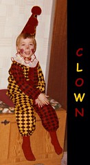 Clown (Thommy 333) Tags: clown costume circus fun funny halloween child childhood boy face painting vintage