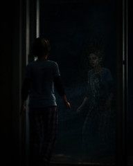 """""""Alone And Afraid"""" (Omegapepper) Tags: wallpaper screenarchery screenshot gaming games videogame playstation ps4 tlou last photomode digital virtual photography portrait pose reflection remastered sarah naughty dog atmosphere atmospheric minimalistic minimalist window"""