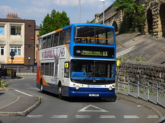 Stagecoach 18164 Mansfield (Guy Arab UF) Tags: stagecoach east midlands 18164 xil1568 dennis trident alexander mansfield bus station nottinghamshire buses gx54dvg kent