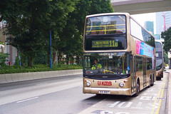 KMB Volvo B10TL 12m KH3127 11B (Thomas Cheung Bus Photography) Tags: bus hong kong public transport mass transit street volvo b9tl kmb kowloon motor double decker doubledecker superolympian super olympian alexander alx500