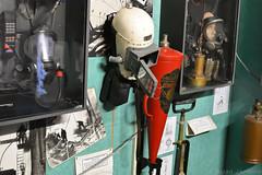 Fire Brigade Helmet (Bri_J) Tags: fortpaull paull hull eastyorkshire uk museum militarymuseum yorkshire nikon d7200 firebrigade helmet fireextinguisher