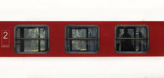 (cherco) Tags: train window 2 3 two three red composition composicion canon city ciudad color tren station stop canoneos5diii alone aloner lonely silhouette solitario solitary shadow silueta solo repetition bulgaria urban colour man white
