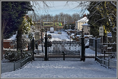 Park Street view (geoff7918) Tags: parkstreet victoriapark gates 350 1001walsall wolverhampton
