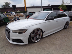 Audi A6 Avant (911gt2rs) Tags: treffen meeting show event tuning tief low stance slammed howdeep custom kombi wagon airride fahrwerk airlift s6 c7 weis white bentley felgen wheels rims