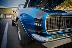 1967 Chevrolet Camaro SS (Photos By Clark) Tags: location california elcajon canon2470 canon5div northamerica cities unitedstates locale places where us blue lightroom restored v8 muscle pony carshow oneofmyfavoritecars ss options thesandiegoist