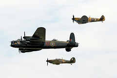 1337 BBMF (photozone72) Tags: riat airshows aircraft airshow aviation canon canon7dmk2 canon100400f4556lii 7dmk2 bbmf raf rafbbmf lancaster merlin props wwii warbirds spitfire hurricane
