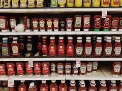 Ketchup, ketchup, ketchup, onion (Roundy Photo) Tags: visitkc store missouri kansascity kc kcmo iphone shopping aisle organic onion condiments ketchup target