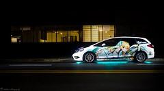 Make neon popular again (Richard Nico) Tags: honda jade hondajade wagon expelledfromparadise 楽園追放 アンジェラバルザック angelabalzac itasha itashacar supercar carphotography automobile automotive photography