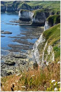 Yorkshire coastline.