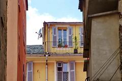 660 - Bastia rue Baietta (paspog) Tags: bastia corse corsica france mai may 2018 ruebaietta balcons balconies balconen façades fassaden facades