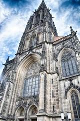 Münster 2018 (22_Juli)_0538b (inextremo96) Tags: münster botanischergarten muenster westfalen widertäufer lamberti aegidien dom kirche church germany mittelalter darkage kiepenkerl