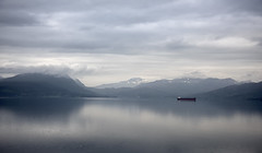 Norway Narvik 160 miles north of the Artic Circle (NGT Images) Tags: norway cruising cunard queenelizabeth fjords landofthemidnightsun glaciers glacier mountains articcircle water earlymorning landscape seascape