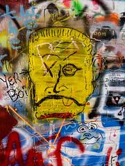 Graffiti (J Wells S) Tags: graffiti streetart wallart annarbor michigan spraypaint face