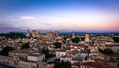 Avignon Sunset (Scottmh) Tags: 2018 europe avignon d7100 france june nikon palace popes summer sunset travel wall