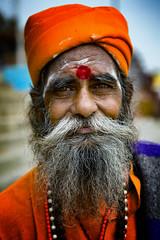 "Wonderful Sadhu (El-Branden Brazil) Tags: varanasi india indian ganges ganga ceremony hindu hinduism asian asia sacred holy mystical ""south asia"" sadhu"