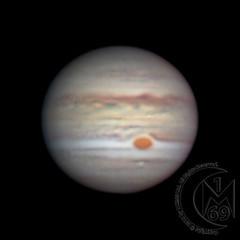 Jupiter [2018.07.25] (1CM69) Tags: 1cm69 as3 asi120mms astrophotography autostakkert celestron celestroncpc925 cpc925 exiftool exmoor geosetter greatredspot grs jupiter kjevans photoshop planet starizonamicrotouchautofocuser zwo twitchen england unitedkingdom gbr