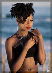 Andi (03_157A) (ronnie.savoie) Tags: africanamerican black noir negra woman mujer chica muchacha girl pretty guapa lovely hermosa browneyes ojosnegros brownskin pielcanela portrait retrato model modelo modèle smile sonrisa santarosaisland pensacola pensacolabeach florida diaspora africandiaspora