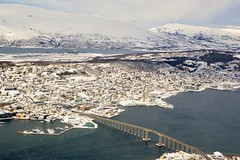 DSC_3234 (stephenholden46) Tags: tromso norway snow winter harbour arcticcircle
