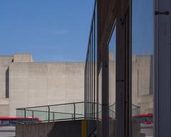 duplicate (Cosimo Matteini) Tags: cosimomatteini ep5 olympus pen m43 mzuiko45mmf18 london southbank southbankcentre haywardgallery nationaltheatre reflection architecture urban brutalist brutalism concrete duplicate