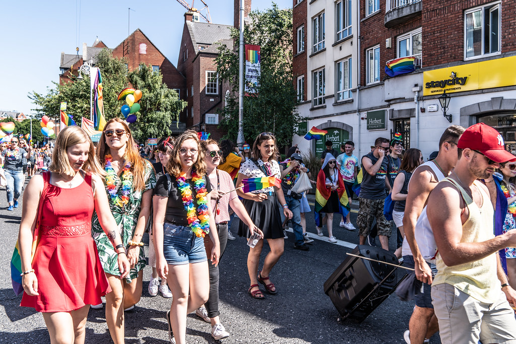 ABOUT SIXTY THOUSAND TOOK PART IN THE DUBLIN LGBTI+ PARADE TODAY[ SATURDAY 30 JUNE 2018] X-100284