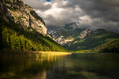 Leopoldsteinersee. (and.schweighofer) Tags: nature natur landschaft landscape see lake austria österreich weather light berg mountain bäume forest color tree trees cloudy clouds wolken