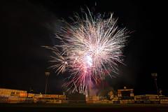Wood Ducks '18 (R24KBerg Photos) Tags: fireworks july4 4thofjuly independenceday 2018 graingerstadium milb baseball ballpark celebration slowshutter canon sports carolinaleague downeastwoodducks kinstonnc kinston america usa