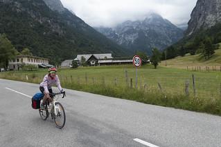 Discesa verso la Valle dell''Isonzo