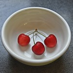Red Cherries In A White Bowl-HSoS! thumbnail