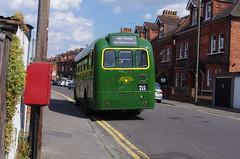 IMGP1581 (Steve Guess) Tags: guildford surrey england gb uk bus rf644 nle644 aec regal iv rf london country lcbs