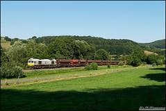 266 in Matzenbach (Nahebahner_JL) Tags: glan glantal schotterzug steinbruch class 77 euro cargo rail ecr 266 426 247 026