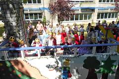 Hier kommen die Prinzen ! (Süßwassermatrose) Tags: 2018 geseke festumzug gösselkirmes nrw deutschland germany kinder kindergartenkinder motivwagen märchen personen prinz